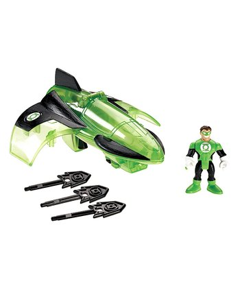 Super Friends Green Lantern Jet & Figure