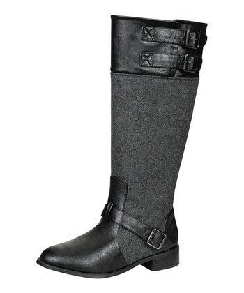 Black Asiana Boot