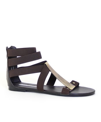 Brown Athena Gladiator Sandal