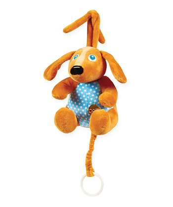 Brown Dog Lullaby Plush Toy