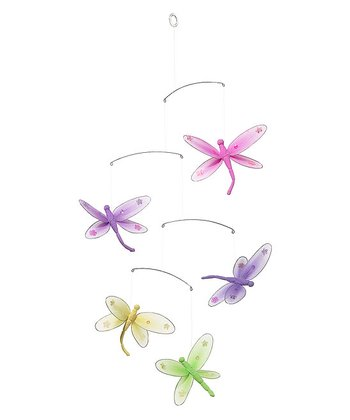 Sequined Dragonfly Mobile