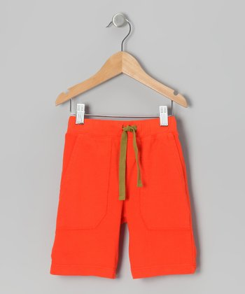 Tomato Richie Organic Shorts - Toddler & Boys