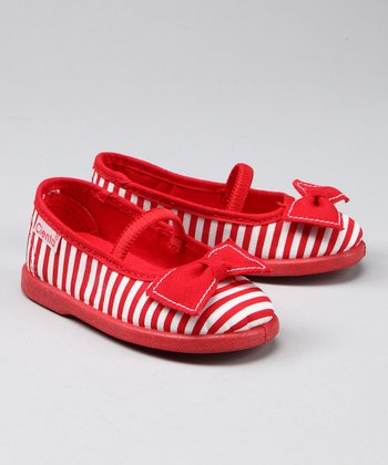 Red Stripe Flat