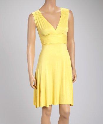 Buttercup Empire-Waist Dress