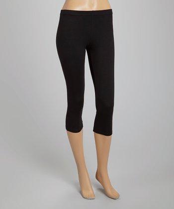 Black Capri Leggings