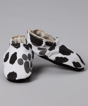 Black & White Cow Bootie