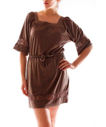 Mink Square Neck Dress - Women