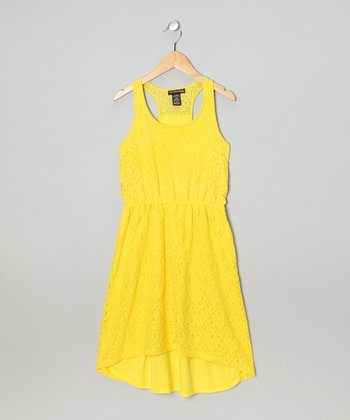 Bees Knees Lace Dress - Girls