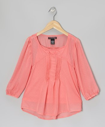 Dark Pink Blouse