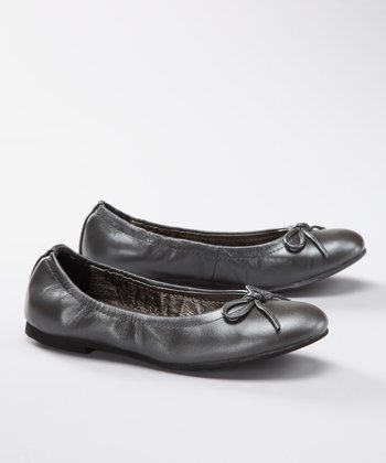 Gray Pearlized Monica Ballet Flat