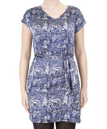 Blue Paris Dress