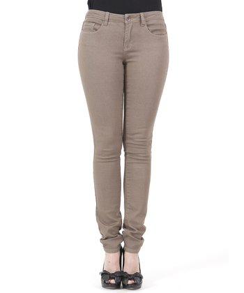 Brown Skinny Jeans