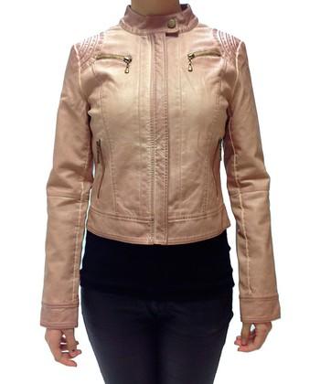 Pink Zip-Up Jacket