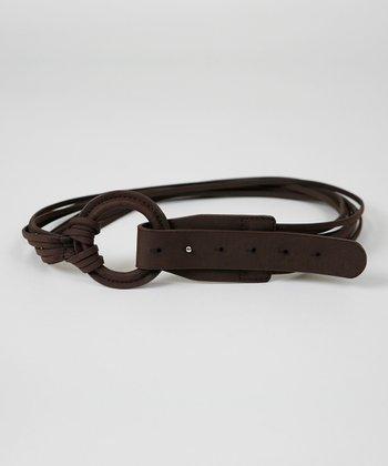 Brown String Belt