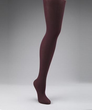 Plum Compression Tights