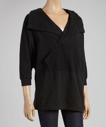 Black Front Pocket Sweater