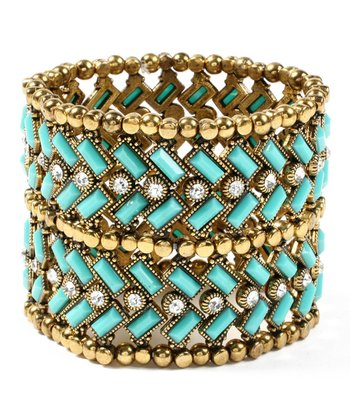 Turquoise Thompson Street Stretch Bracelet