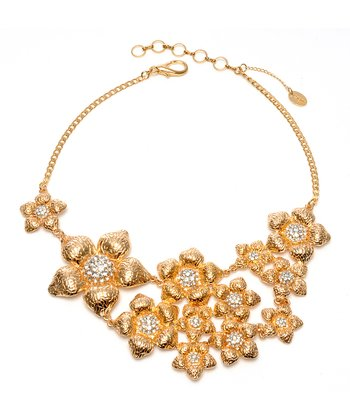 Gold Bergman Bib Necklace