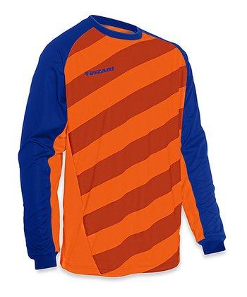 Vizari Orange & Royal Padova Goalkeeper Jersey - Adult