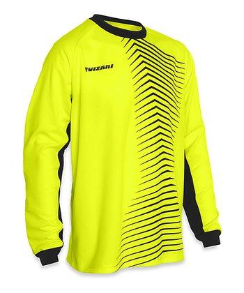 Vizari Yellow & Black Novara Goalkeeper Jersey - Adult