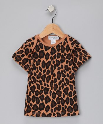 Coffee Leopard Tee - Toddler