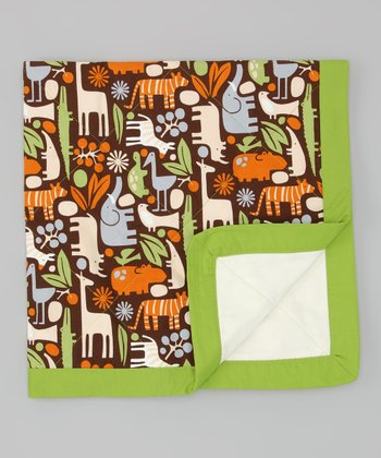Brown & Green Desa Quilt