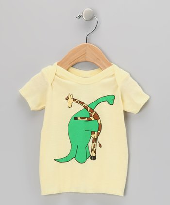 Banana On the Same Level Lapneck Tee - Infant