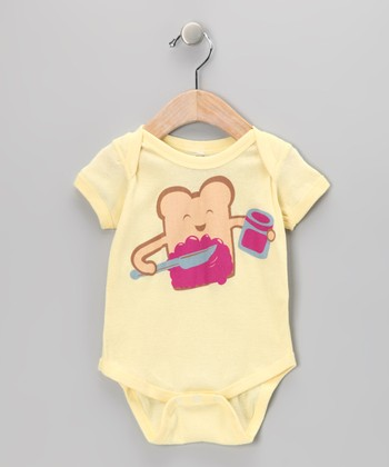 Soft Yellow Delicious Bodysuit - Infant
