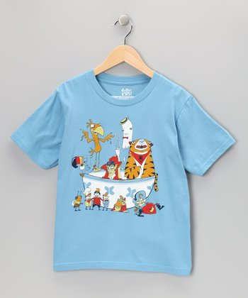 Light Blue Sugar High Tee - Kids