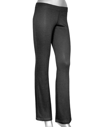 Black Lazy Lounge Pants - Women