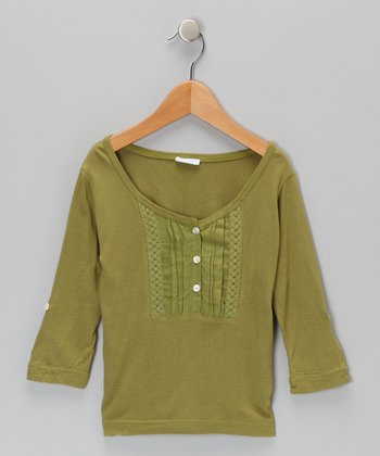 Moss Lacy Tunic - Infant, Toddler & Girls