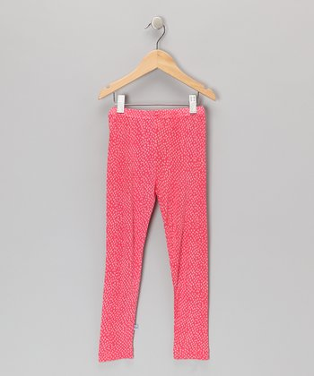 Pink Chicken Feet Leggings - Toddler & Girls