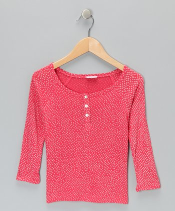 Pink Chicken Feet Cruz Henley - Infant, Toddler & Girls