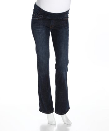 Regular Wash Under-Belly Maternity Jeans