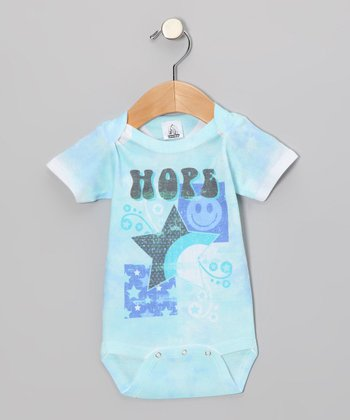 Baby Blue 'Hope' Bodysuit - Infant