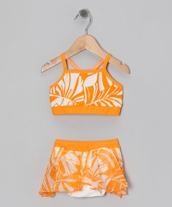 Mango Tropical Skirted Bikini