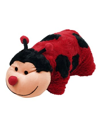 Trademark Global Large Ladybug Cuddlee Pillow