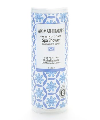 Aromatherapaes PM Wind-Down Shower Tablets