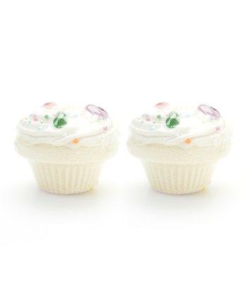 Jelly Bean Cupcake Bath Fizz - Set of Two