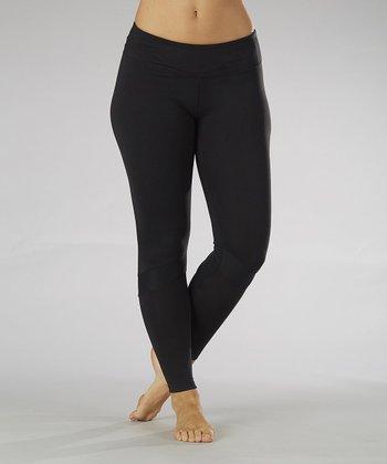 Black Runner Leggings - Women