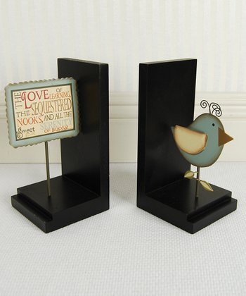 Bird Bookend Set