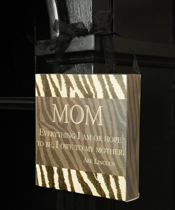 'Mom' Wall Sign