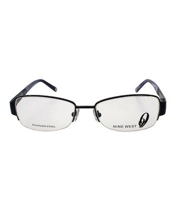 Navy Stone Eyeglasses