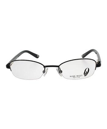 Black Snakeskin Eyeglasses