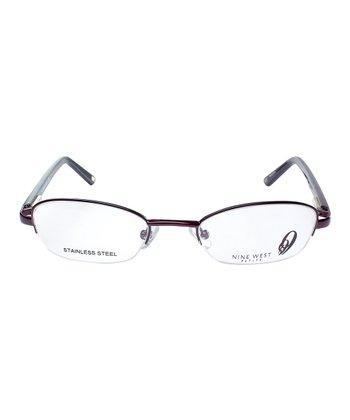 Red Symmetry Eyeglasses