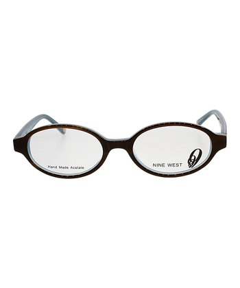 Blonde & Tortoise Round Eyeglasses