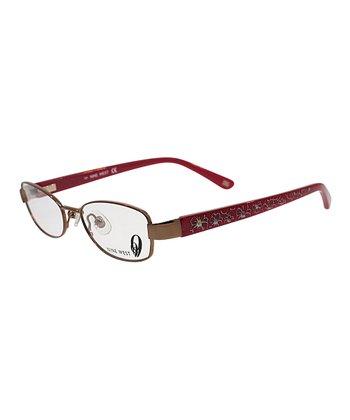 Red Floral Eyeglasses