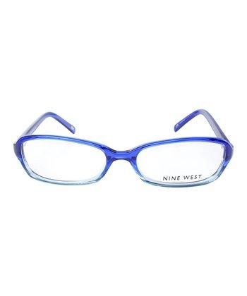 Cobalt & Sky Blue Rectangular Eyeglasses