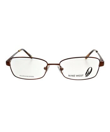 Brown Petite Lilac Eyeglasses