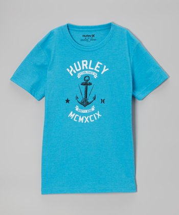 Cyan Anchor Tee - Boys